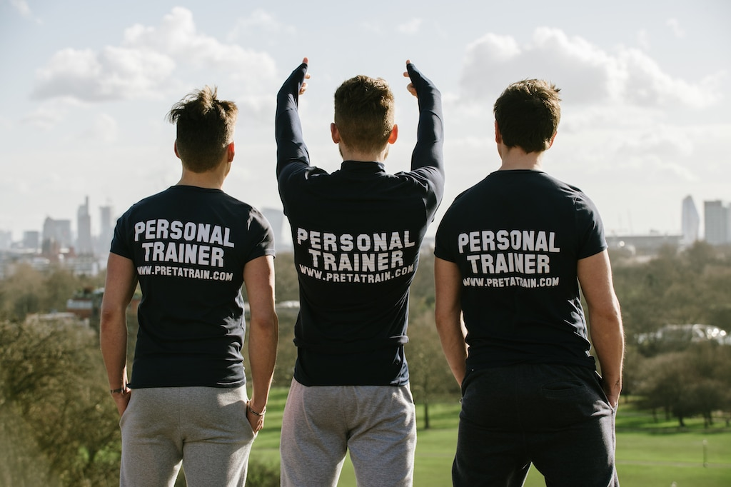 Personal trainers in Monaco Pret a Train team